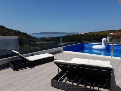 Terrasse Mietobjekt Villa 114348 Trogir