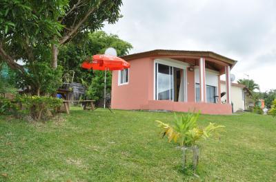 Ausblick aus der Ferienunterkunft Mietobjekt Bungalow 76540
