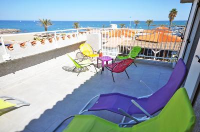 Ausblick von der Terrasse Mietobjekt Villa 78588 Sainte Marie la Mer