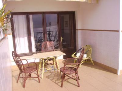 Terrasse Mietobjekt Appartement 82679 Málaga