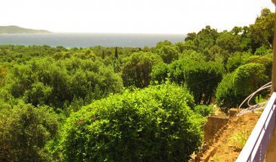 Ausblick von der Terrasse Mietobjekt Appartement 83253 Cavalaire-sur-Mer
