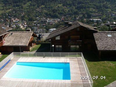 Ausblick vom Balkon Mietobjekt Studio 86819 Saint-Gervais-les-Bains