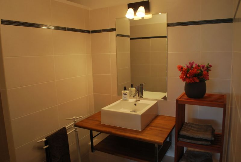 Badezimmer Mietobjekt Appartement 90989 Saint Francois