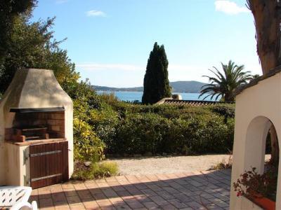 Ausblick von der Terrasse Mietobjekt Haus 93909 Grimaud