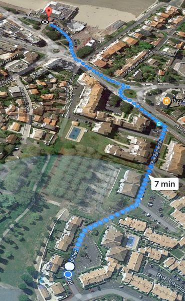Kartenansicht Mietobjekt Haus 93952 Royan