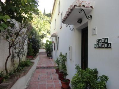 Eingang Mietobjekt Haus 95953 Frigiliana