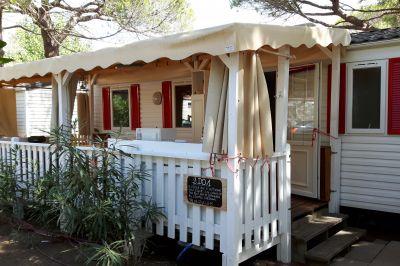 Terrasse Mietobjekt Mobil-Home 97399 Saint Tropez