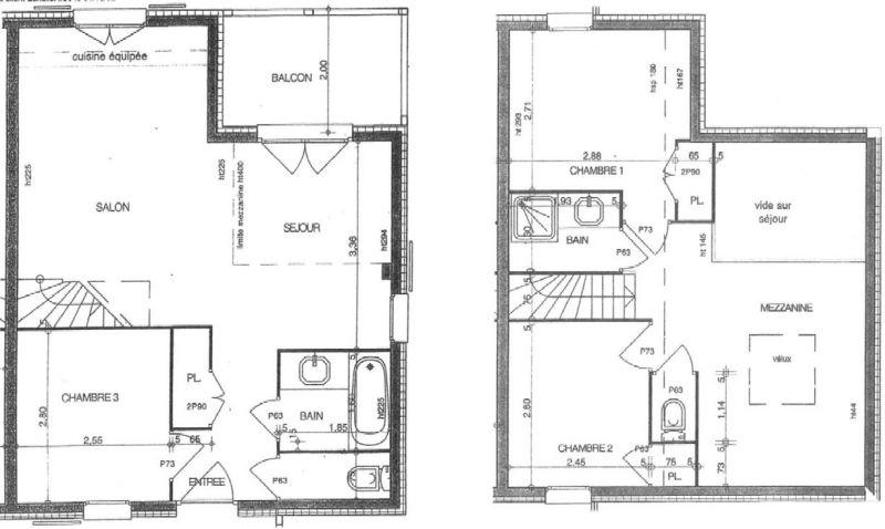 Grundriss des Objektes Mietobjekt Appartement 111117 Les Saisies