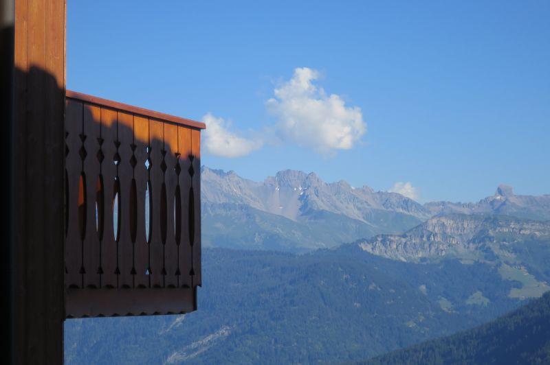 Ausblick vom Balkon Mietobjekt Appartement 111117 Les Saisies