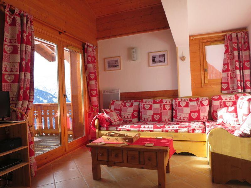 Wohnzimmer Mietobjekt Appartement 111117 Les Saisies