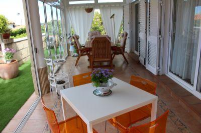 Ausblick von der Terrasse Mietobjekt Villa 114001 Callao Salvaje