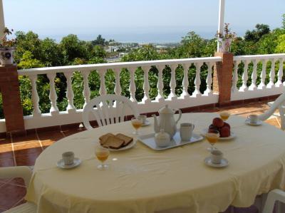 Ausblick aus der Ferienunterkunft Mietobjekt Ferienunterkunft auf dem Land 65400 Nerja