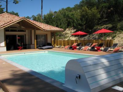 Schwimmbad Mietobjekt Villa 72739 Moliets