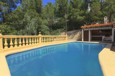Schwimmbad Mietobjekt Villa 75222 Dénia