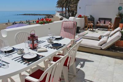 Ausblick von der Terrasse Mietobjekt Appartement 84366 Marbella