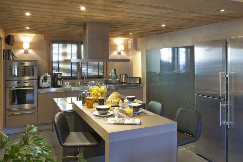 offene Küche 1 Mietobjekt Chalet 86535 Le Grand Bornand