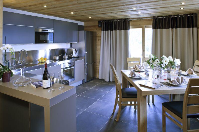 offene Küche 2 Mietobjekt Chalet 86535 Le Grand Bornand