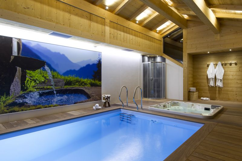 Schwimmbad Mietobjekt Chalet 86535 Le Grand Bornand