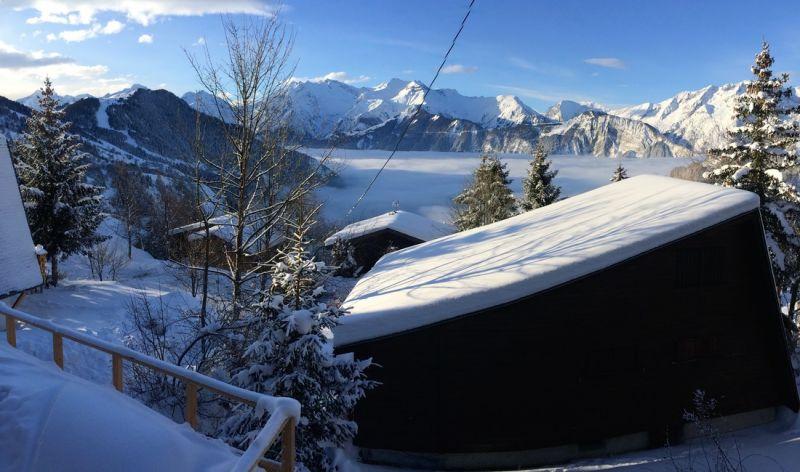 Ausblick aus der Ferienunterkunft Mietobjekt Chalet 100569 Alpe d'Huez