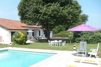 Schwimmbad Mietobjekt Haus 102287 Hossegor