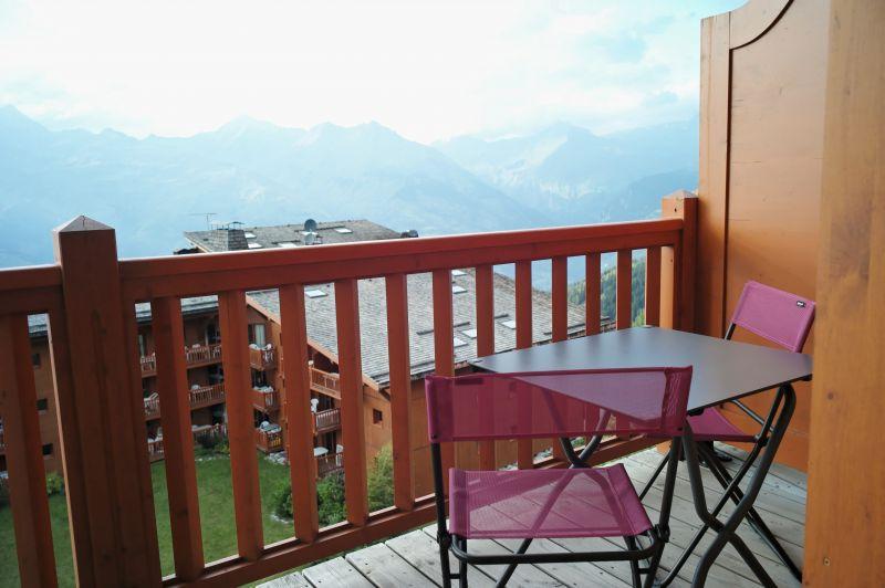 Ausblick von der Terrasse Mietobjekt Appartement 108341 Les Arcs