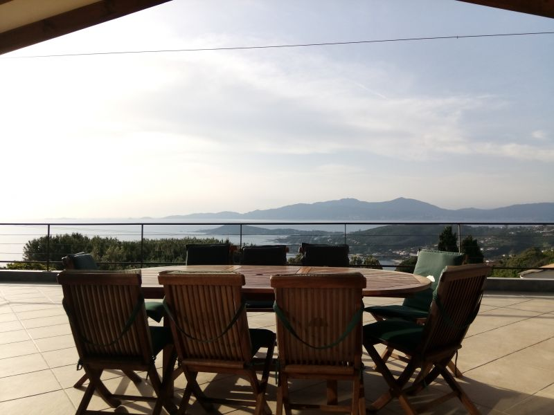 Ausblick von der Terrasse Mietobjekt Villa 114573 Porticcio