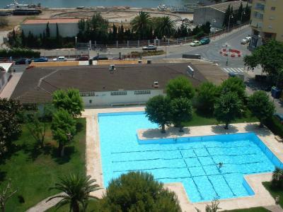 Schwimmbad Mietobjekt Appartement 64450 Gandia