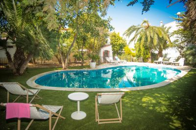 Schwimmbad Mietobjekt Villa 95047 Barcelona
