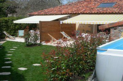 Garten Mietobjekt Haus 107458 Hossegor