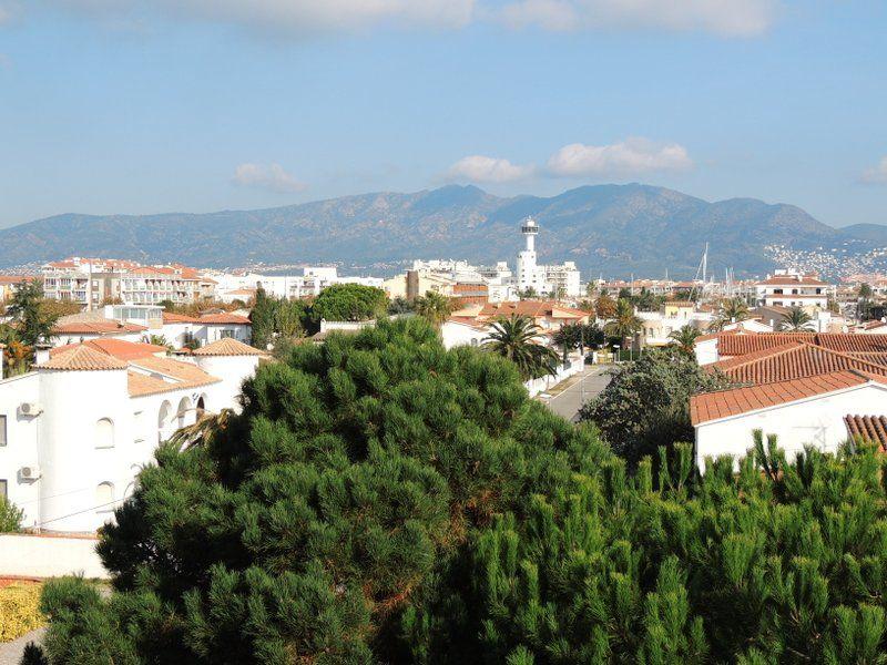 Ausblick von der Terrasse Mietobjekt Appartement 112044 Empuriabrava