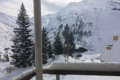 Ausblick vom Balkon Mietobjekt Studio 112505 Avoriaz