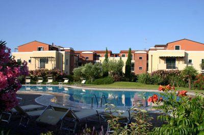 Ausblick von der Terrasse Mietobjekt Appartement 115616 Cavallino-Treporti