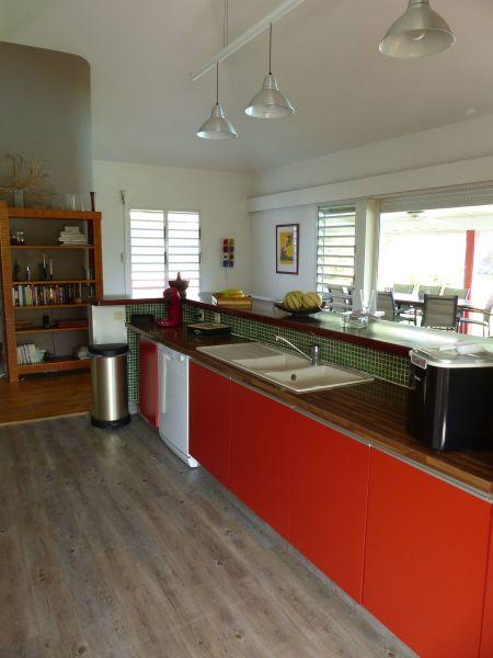 offene Küche Mietobjekt Villa 116237 Saint Francois