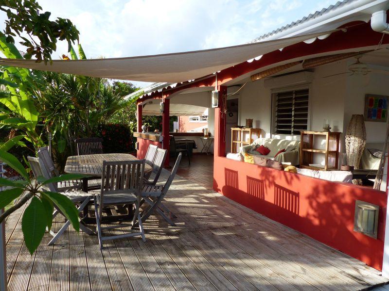 Terrasse Mietobjekt Villa 116237 Saint Francois