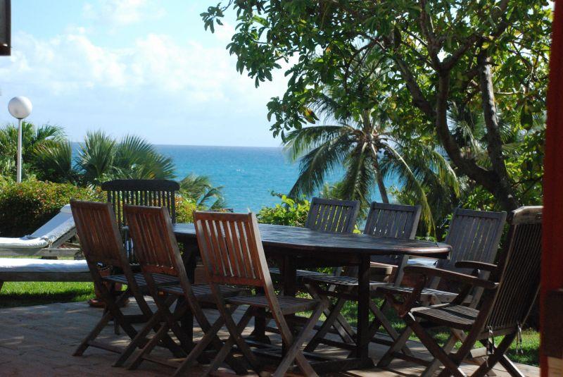Ausblick von der Terrasse Mietobjekt Villa 116237 Saint Francois