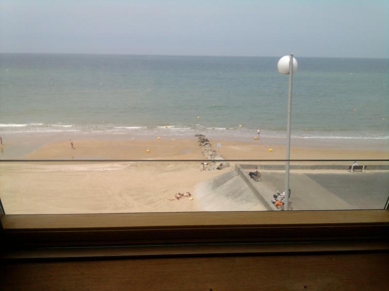 Ausblick von der Terrasse Mietobjekt Appartement 83196 Cabourg