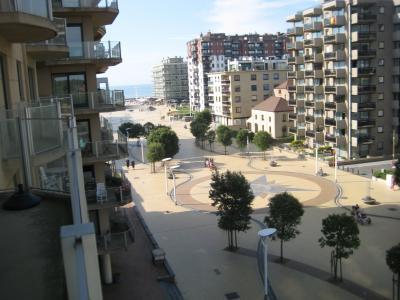 Ausblick vom Balkon Mietobjekt Appartement 91057 De Panne