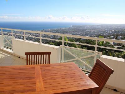 Ausblick von der Terrasse Mietobjekt Appartement 93125 Saint Denis