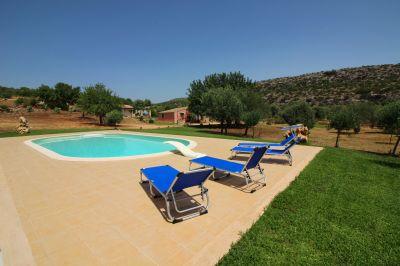 Ausblick aus der Ferienunterkunft Mietobjekt Villa 101172 Syrakus