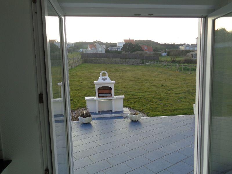 Ausblick von der Terrasse Mietobjekt Villa 102925 Audinghen
