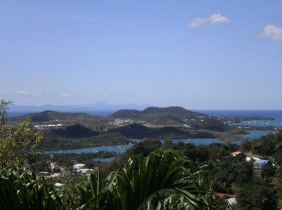 Ausblick vom Balkon Mietobjekt Haus 105880 Le Marin