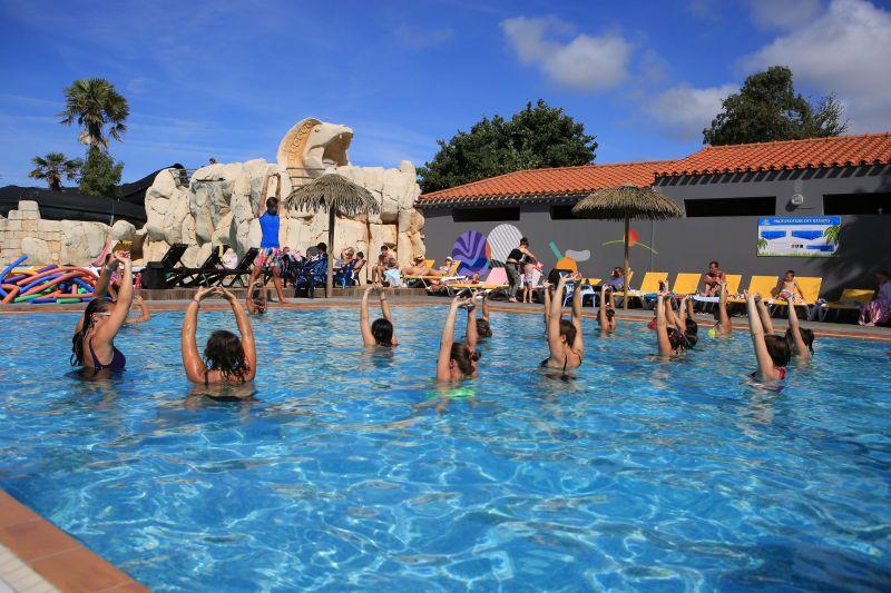 Schwimmbad Mietobjekt Mobil-Home 107395 Saint Hilaire de Riez