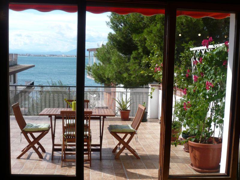 Ausblick aus der Ferienunterkunft Mietobjekt Appartement 108266 Rosas