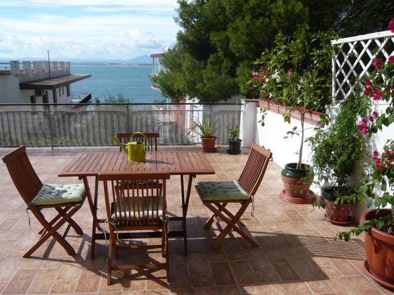 Terrasse Mietobjekt Appartement 108266 Rosas
