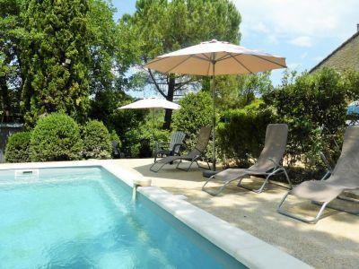 Schwimmbad Mietobjekt Haus 110810 Vaison la Romaine