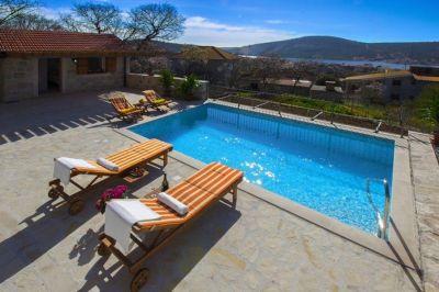 Schwimmbad Mietobjekt Haus 112560 Trogir