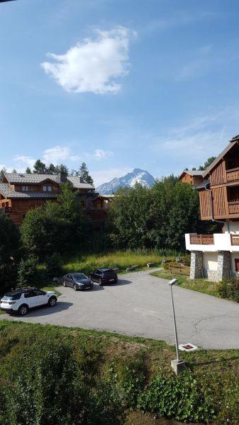 Ausblick von der Terrasse Mietobjekt Appartement 116778 Les 2 Alpes