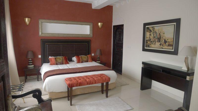 Schlafzimmer 5 Mietobjekt Villa 76643 Agadir
