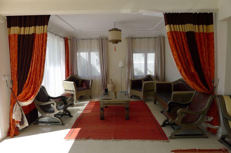 Wohnzimmer 2 Mietobjekt Villa 76643 Agadir
