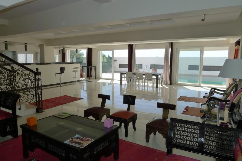 Wohnzimmer 1 Mietobjekt Villa 76643 Agadir